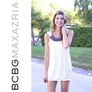 { BCBG MaxAzria } Embellished Bubble Dress